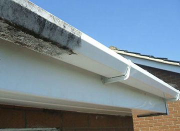 Fascia guttering and soffet cleaning